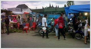 Pasar Pariaman Mulai Ramai Dan Cerita Saat Hujan Badai