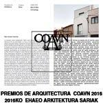 Libro Premios COAVN 2016