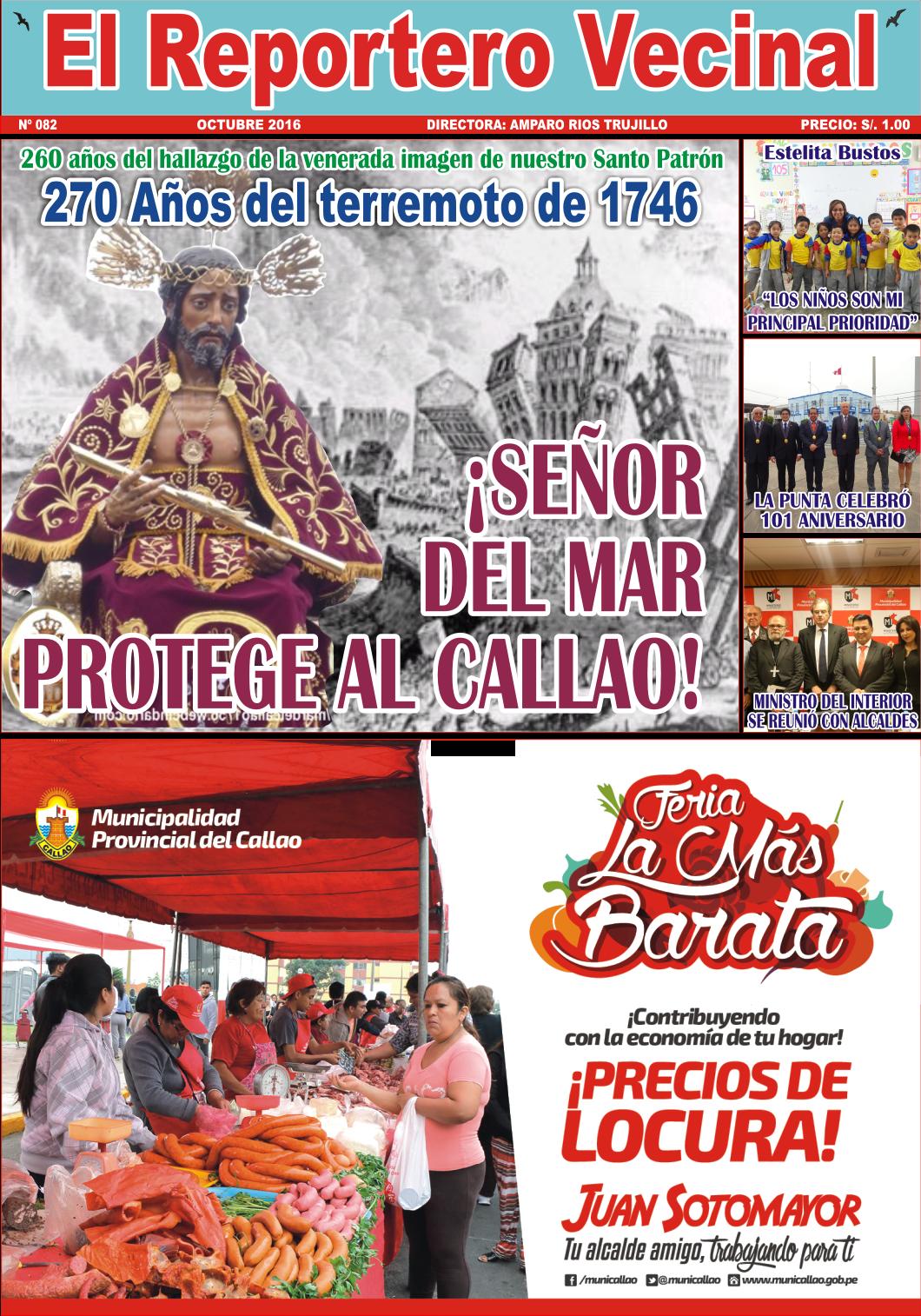 """""""EL REPORTERO VECINAL"""" EDICIÓN Nº 82"""
