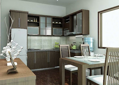 Desain Dapur Gaya Minimalis