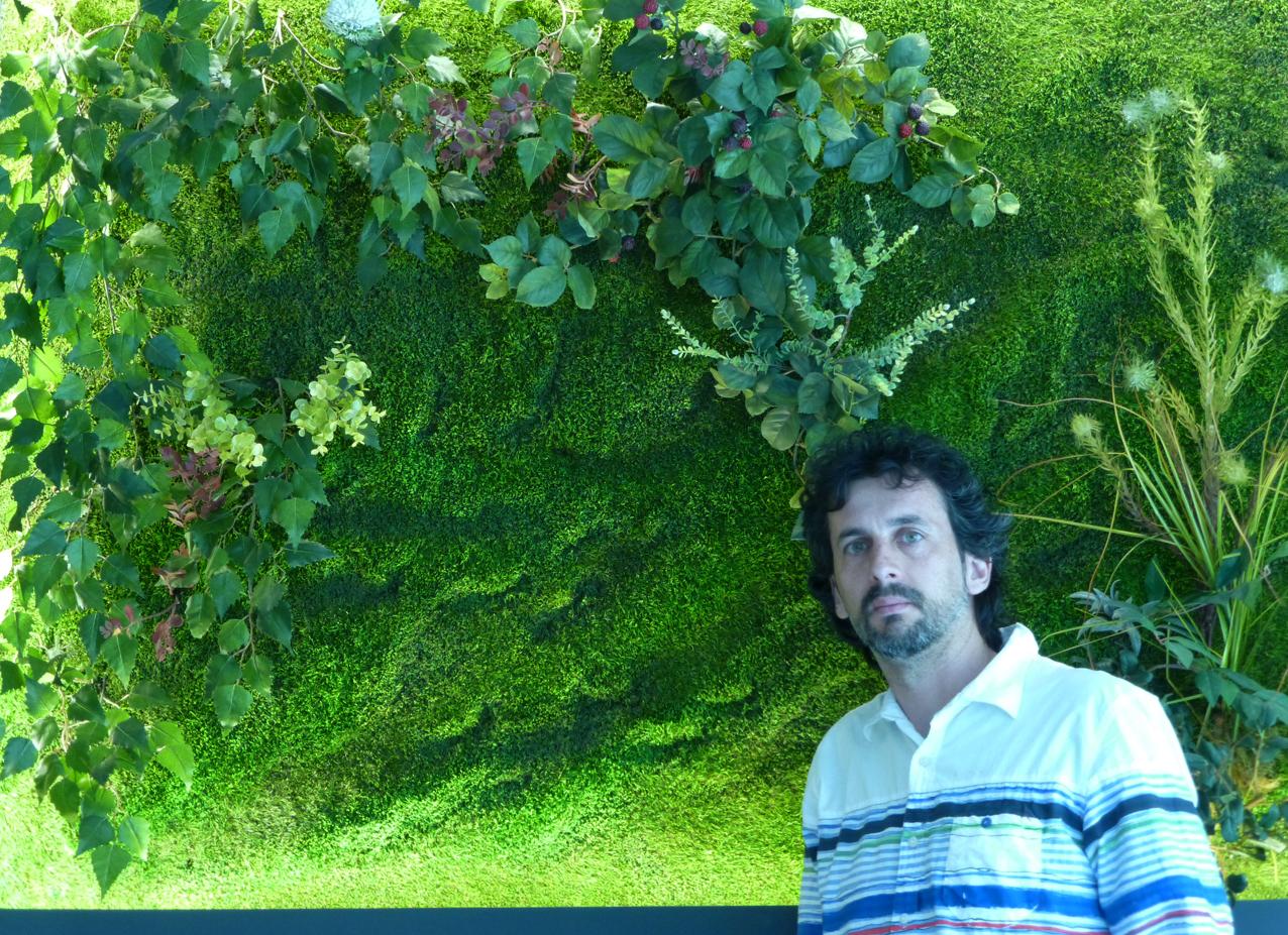 Cuaderno de campo y taller jardines verticales tipos y for Jardines verticales artificiales madrid