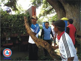 Jajaran Kecamatan Rasanae Barat Adakan Gotong Royong dan Bersih-bersih