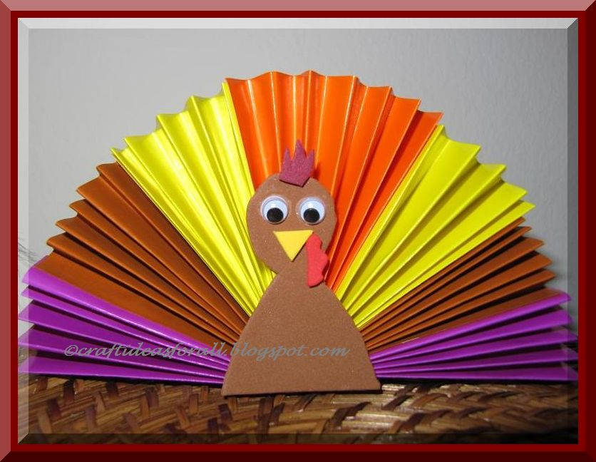 Be different act normal turkey crafts for kids - Different craft ideas for kids ...