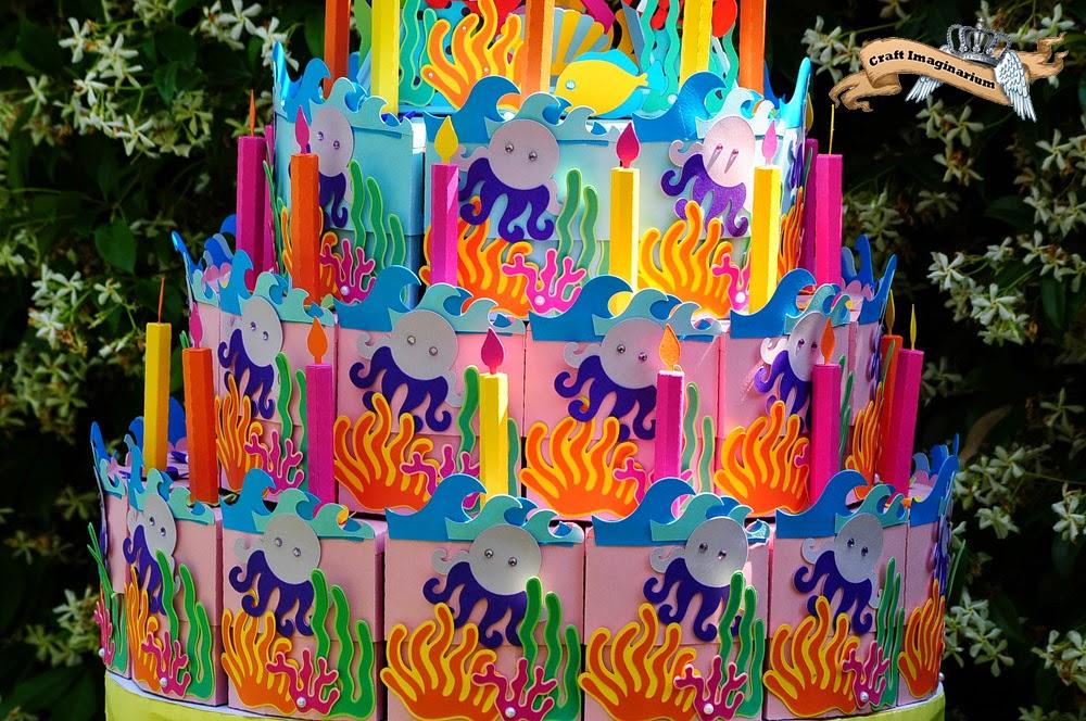 Craft Imaginarium Birthday Cake Box - The biggest birthday cake