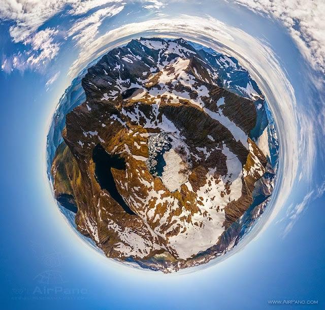 AirPano Planets, fotografías panorámicas 360º, Fjords noruegos