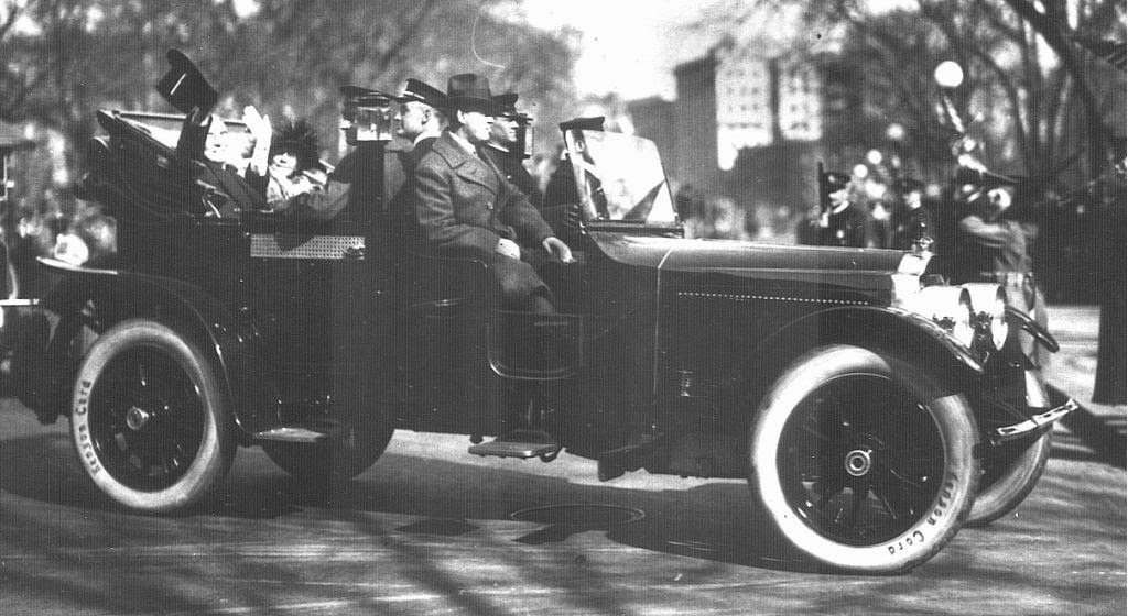 President Harding and Secret Service