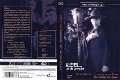 Cover, Dvd, Caratula: La legión de los hombres sin alma | 1932 | White Zombie
