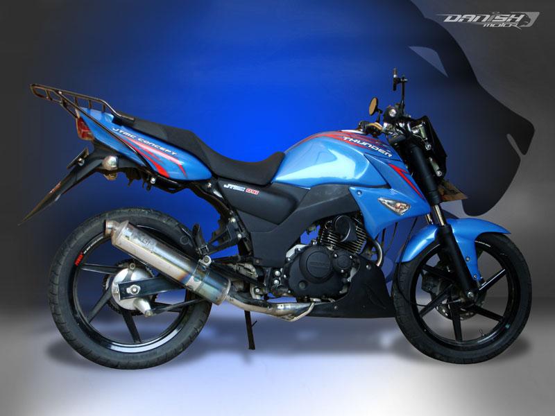 Spesifikasi Modifikasi Suzuki Thunder 125cc :