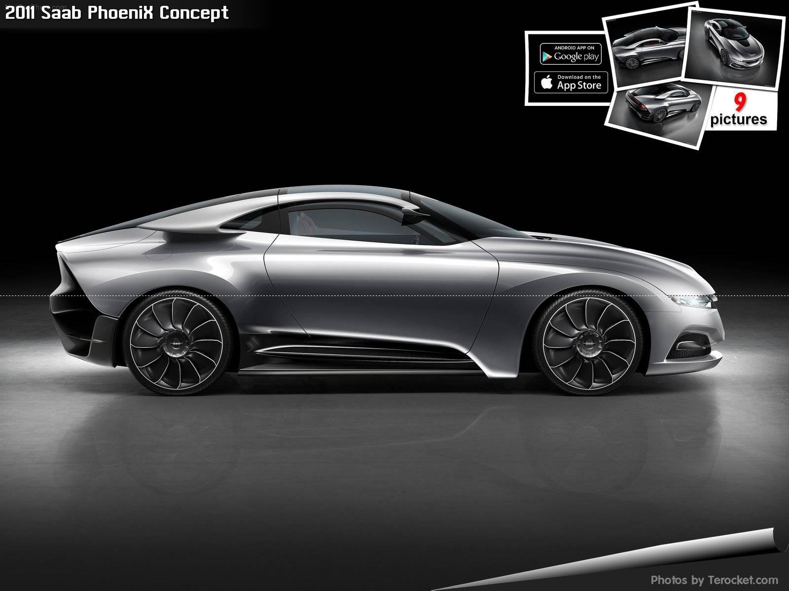 Hình ảnh xe ô tô Saab PhoeniX Concept 2011 & nội ngoại thất