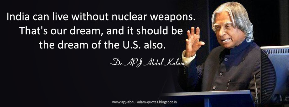 Famous Quotes of APJ Abdul Kalam