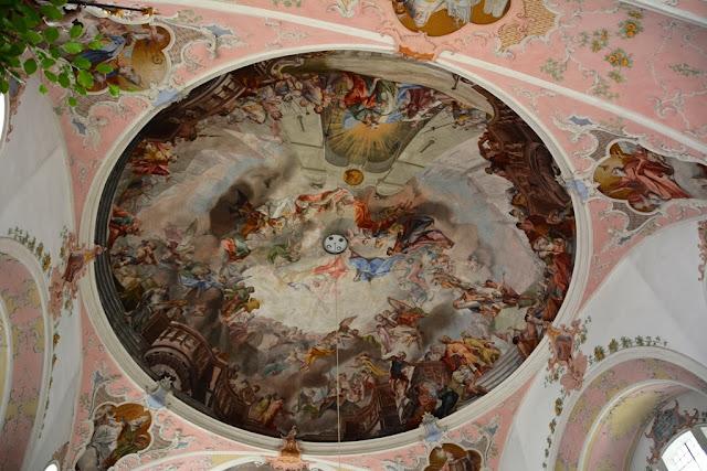 Pfarrkirche St Peter Paul Oberammergau Ceiling