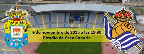 Previa UD Las Palmas - Real Sociedad jornada 11
