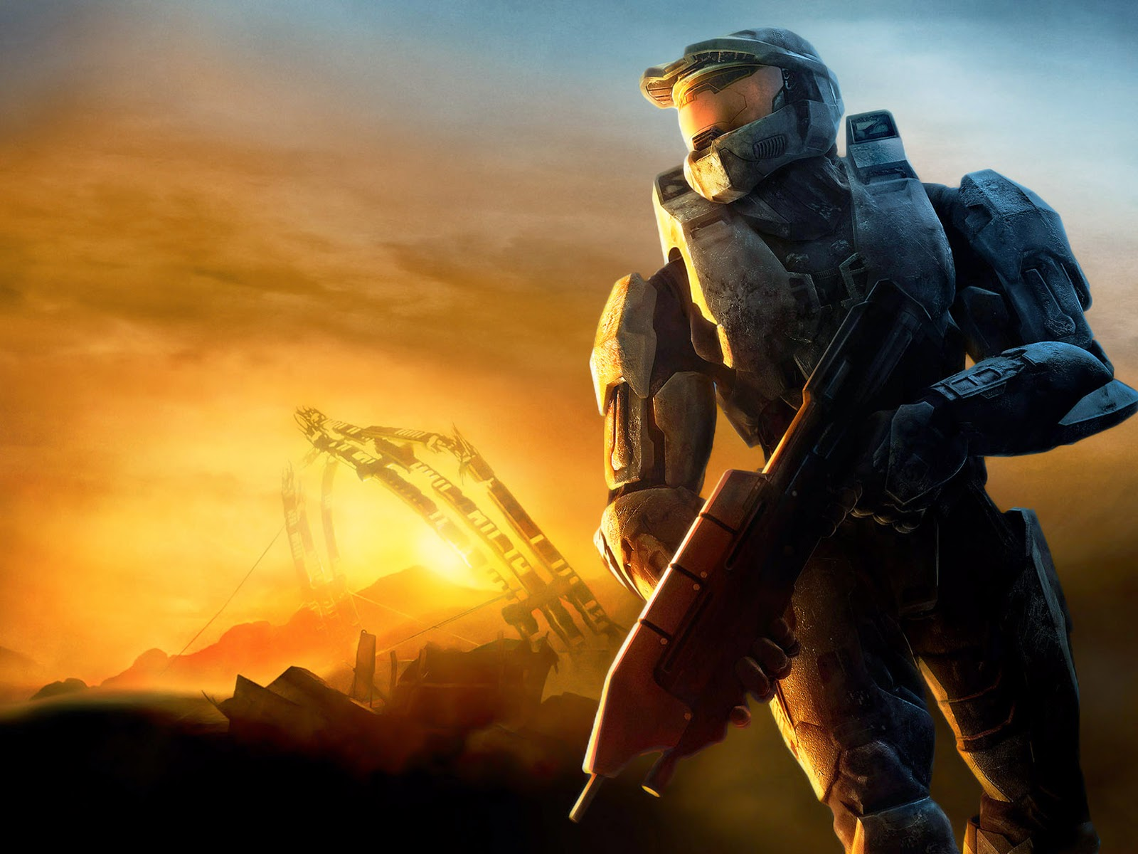Game wallpaper halo wars