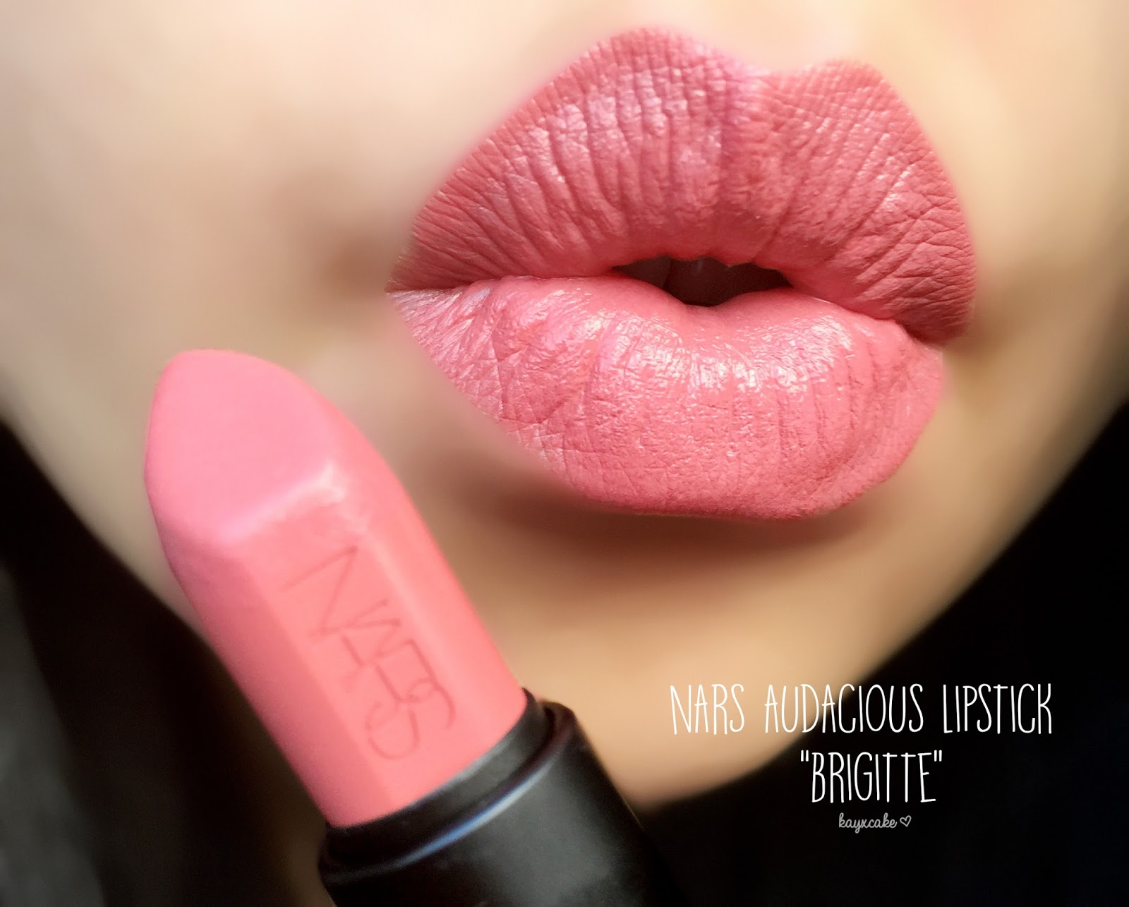 Populaire NARS Audacious Lipstick ♡ Brigitte Review + Swatches - Kay Cake  AP13