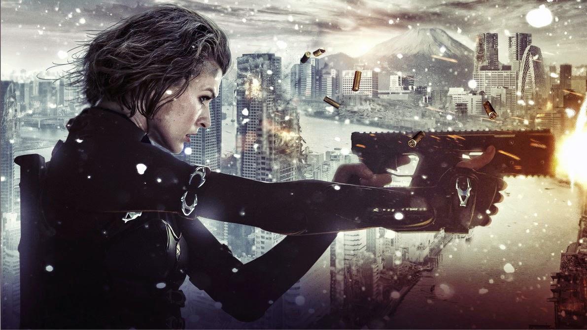 actress Milla Jovovich action star