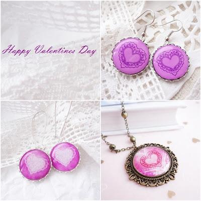 pink, earrings, jewelry, heart