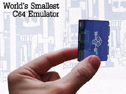 ¿El emulador de C64 más pequeño del mundo?