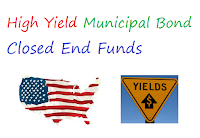 High Yield Municipal Bond Closed End Funds
