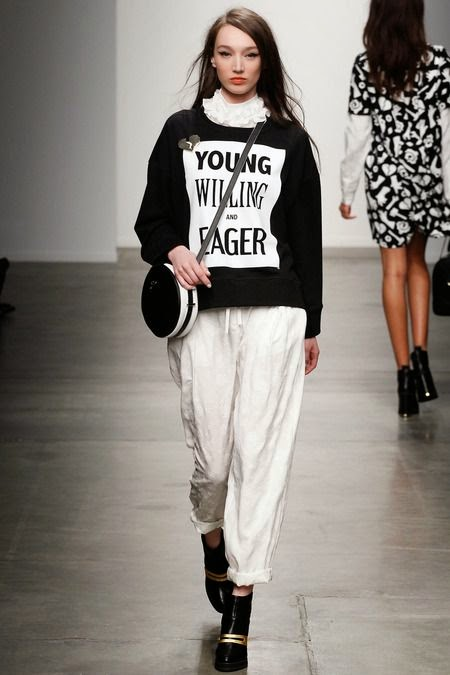 Karen Walker graphic sweatshirt