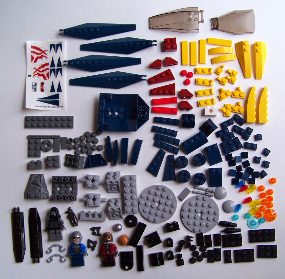 LEGO Starblaster Showdown 76019 parts