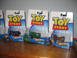 Dan The Pixar Fan Toy Story Hot Wheels Cars