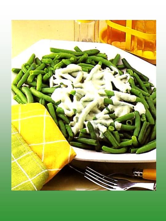 Judias verdes con salsa de yogur alimentaci n vegetal y bienestar - Tiempo coccion judias verdes ...