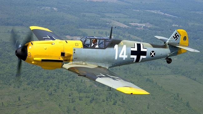 Tα μαχητικά της Luftwaffe σε ένα εκπληκτικό βίντεο
