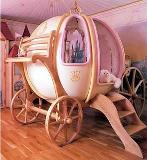 kabarunik - tempat tidur kereta cinderella