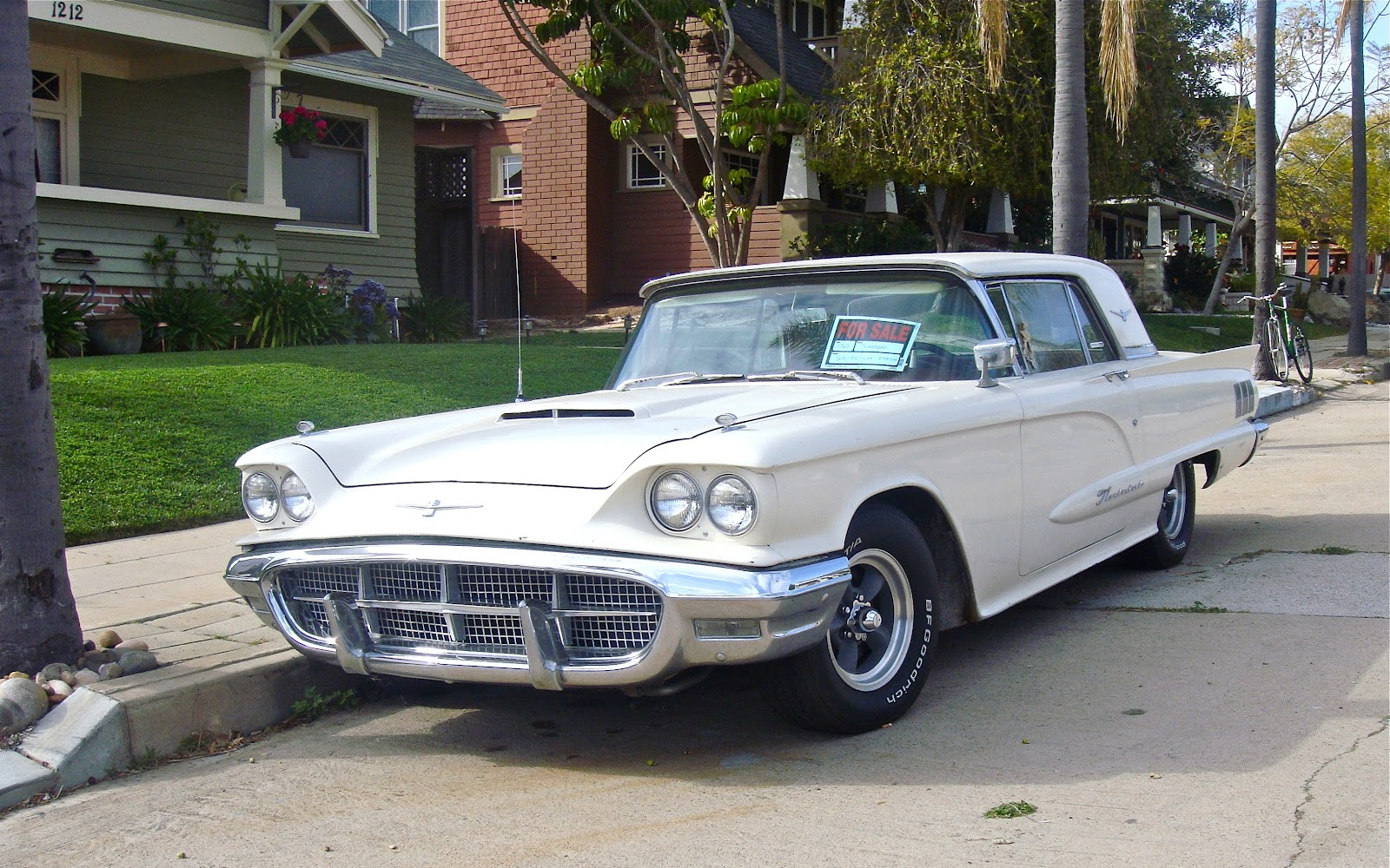 the street peep 1960 ford thunderbird. Cars Review. Best American Auto & Cars Review