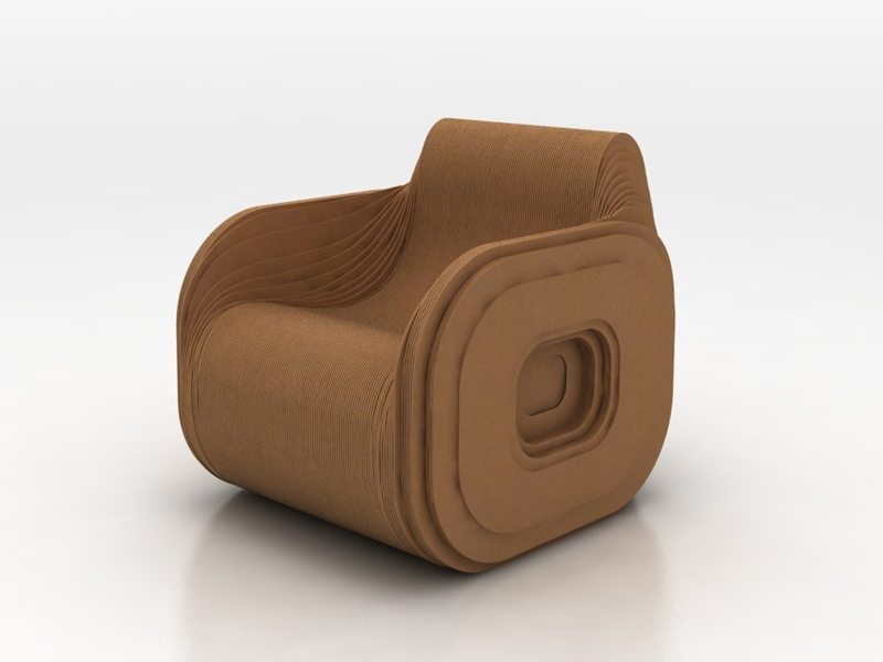 1000 ideas about Cardboard Chair on Pinterest
