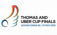 China Juara Piala Thomas 2012 | Hasil Final Thomas dan Uber Cup 2012