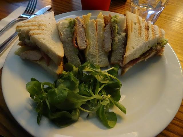 The breakfast club club sandwich