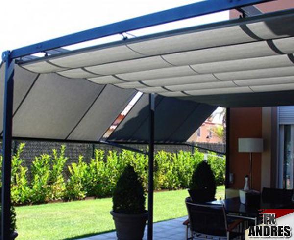 Combinaci n fx y la protecci n solar - Estructuras de aluminio para terrazas ...