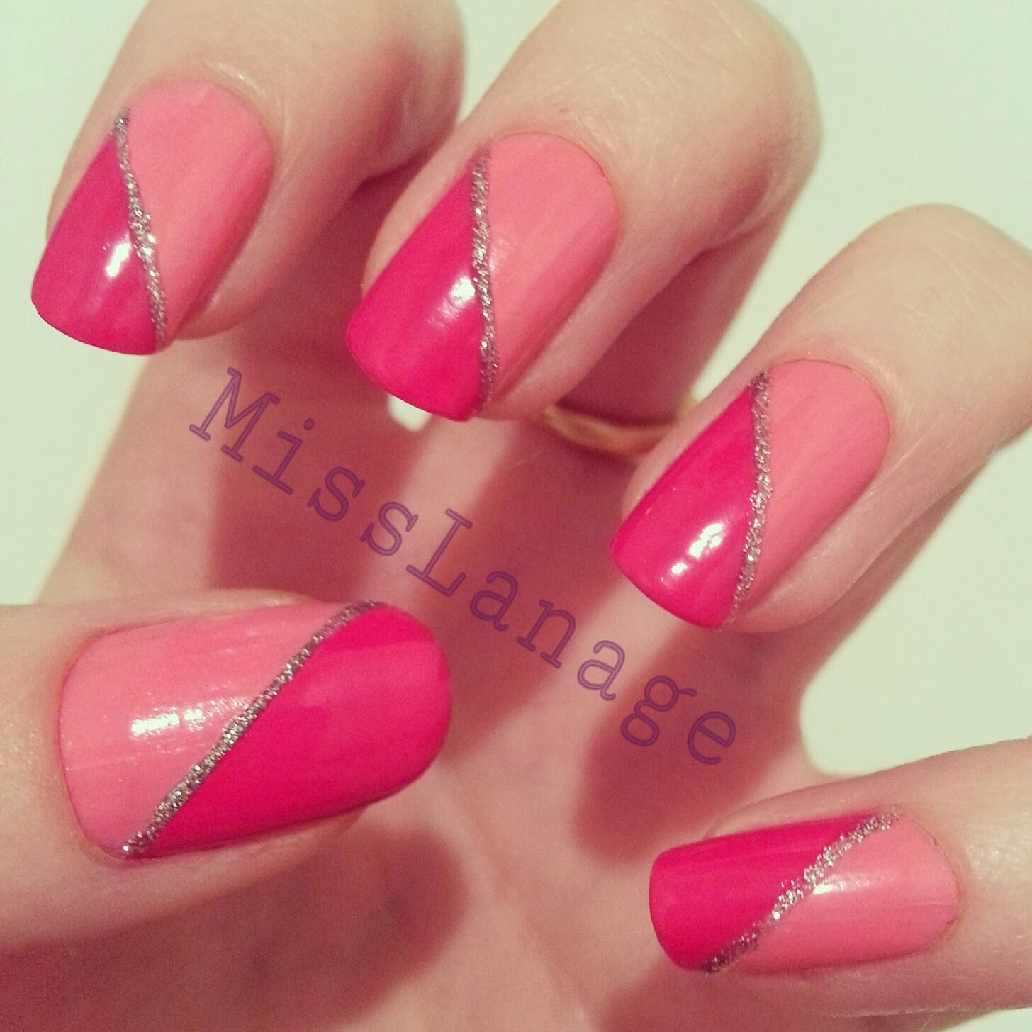 Half Well Nail Tips: Lane's Lacquers: Crumpet's 33DC: Most Owned Colour Polish