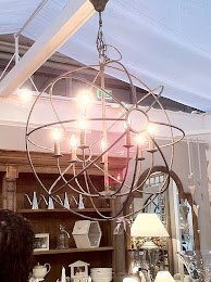 IRON ORB CHANDELIERS