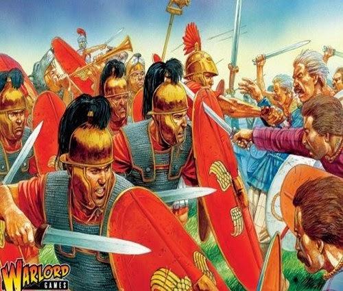 Painting Caesarian Roman Legion Picture 1