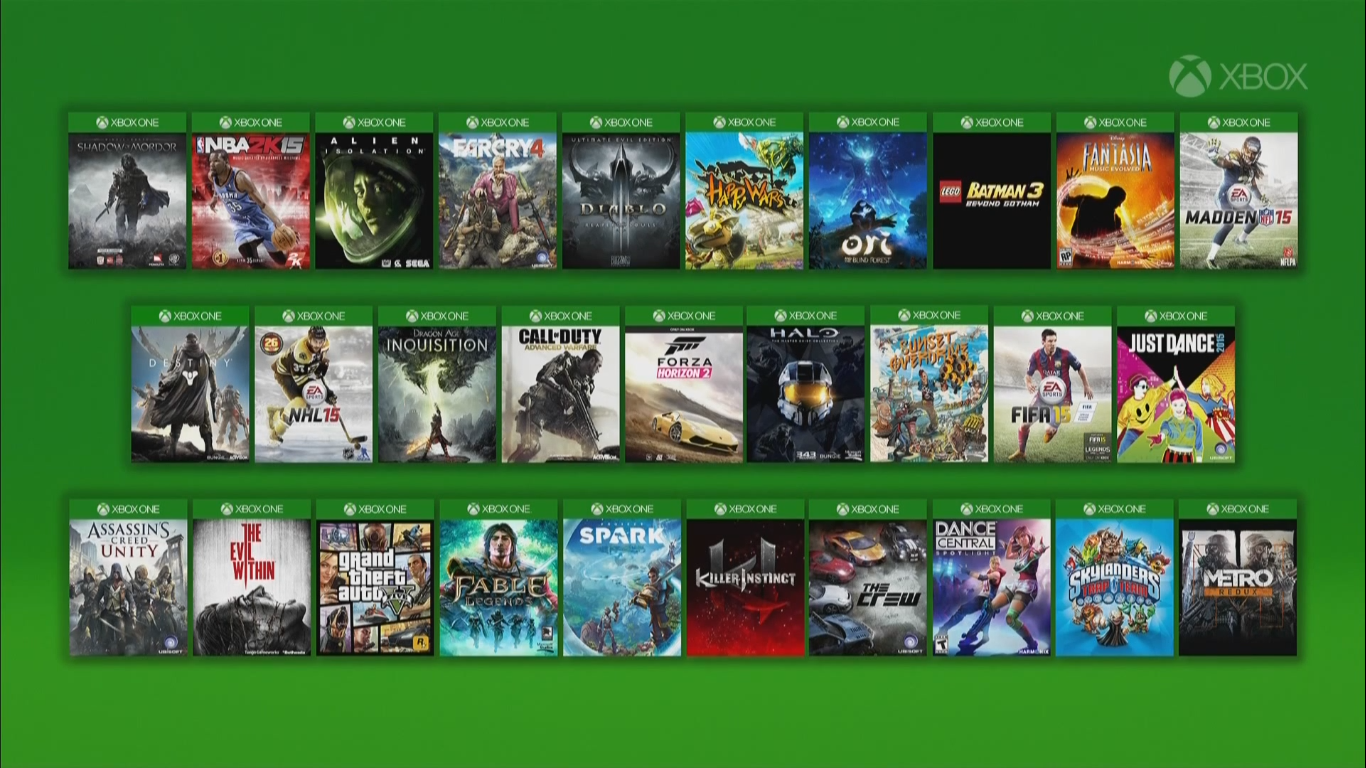 All Games For Xbox 1 : Gazeebo gamescom microsoft press conference