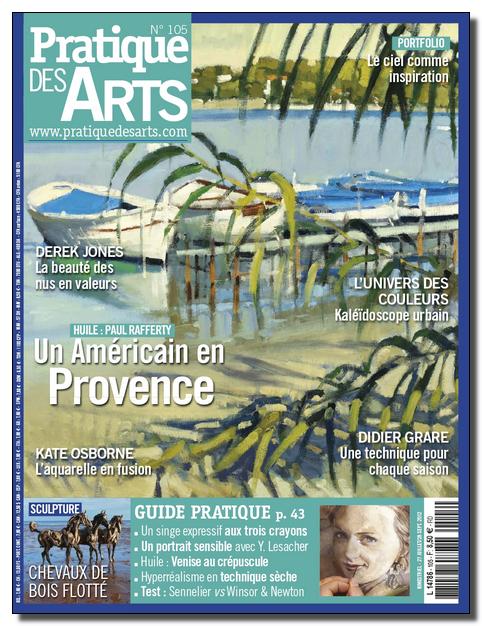 Pratique des Arts (+ Le guide pratique) N°105 - Aout-Septembre 2012 [Lien Direct]