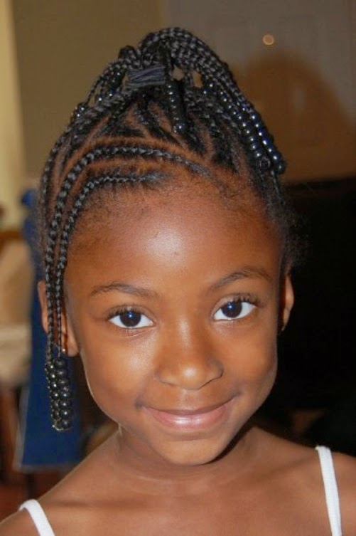 LIFE STYLE TREND — Natural Hairstyles For African American Little...