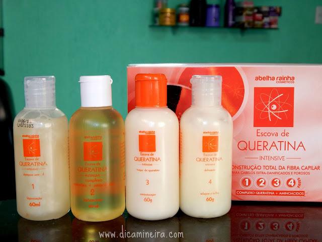 Escova de Queratina: Recupere seu Cabelo em 4 Passos