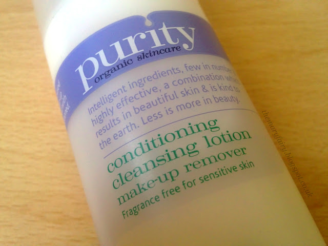 Purity Conditioning Cleansing Lotion Make-up Remover