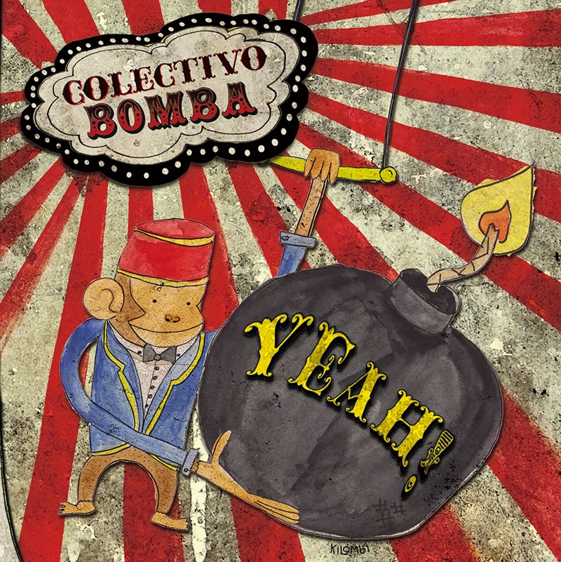Disco de Colectivo Bomba Yeah