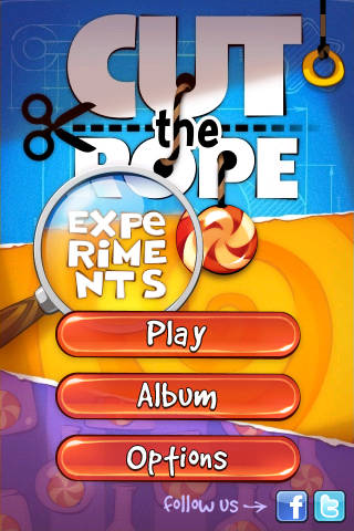 Cut The Rope: Experiments Free App Game By
