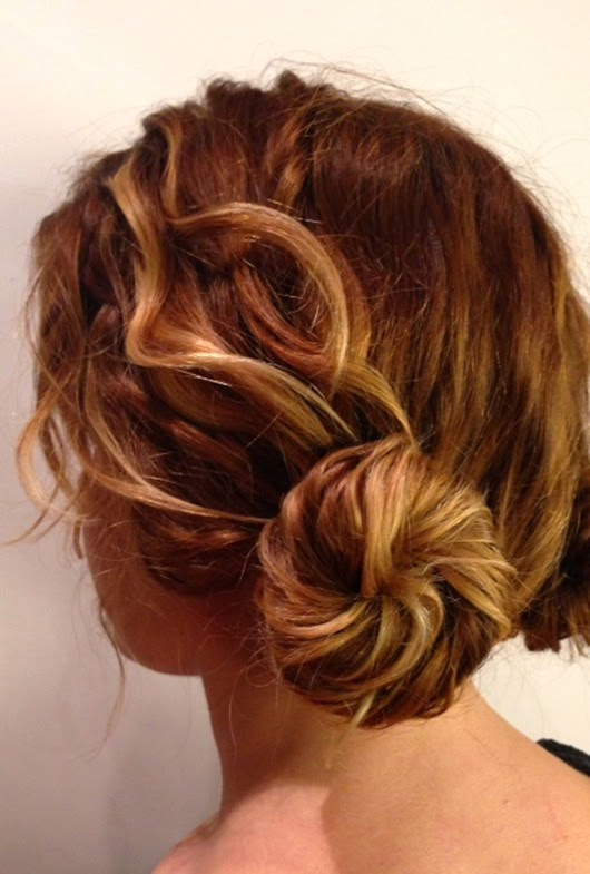 fashion celebrity festival hairstyle long hairdos
