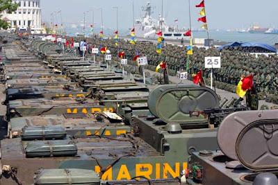 Kavaleri dan Artileri Korps Marinir TNI-AL