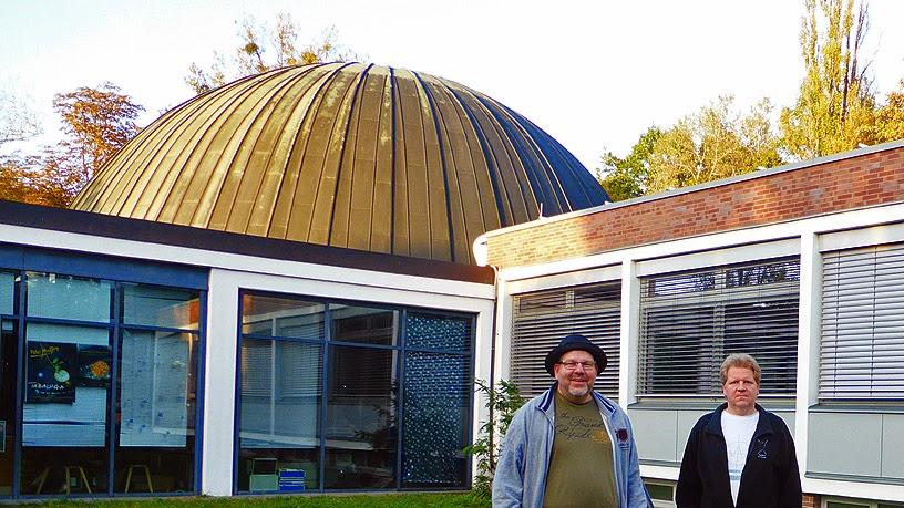 Fratoroler : Thomas Köhler et Frank Rothe @ Planetarium am Insulaner, Berlin / photo S. Mazars