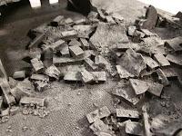 Painting Warhammer 40k Ruins