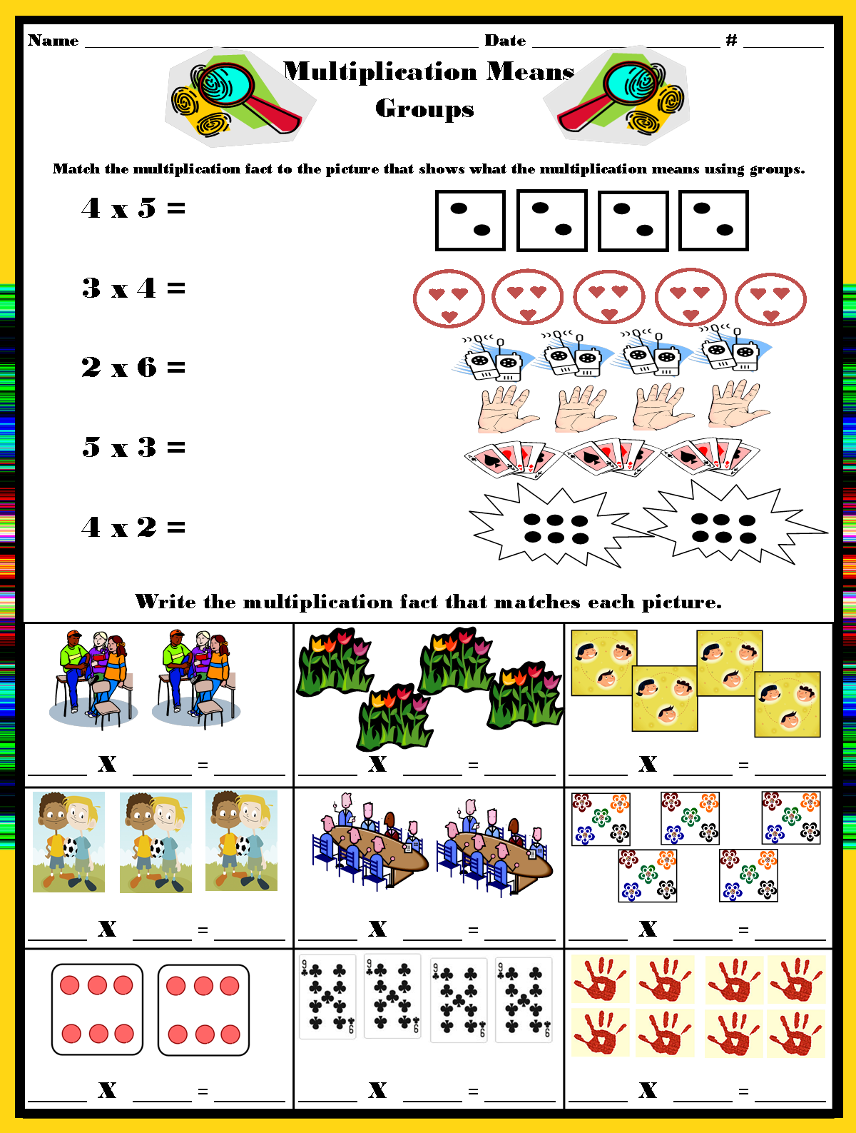 Mrs. Hill's Perfect P.I.R.A.T.E.S.: Mysterious Multiplication