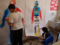 Laboratori creativi interculturali nella scuola media a Torvaianica