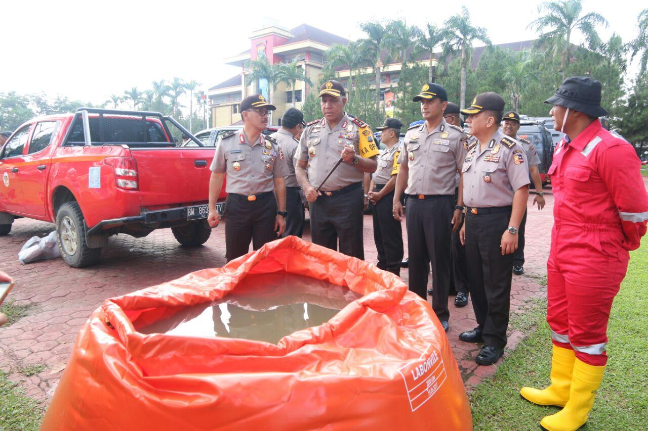 Poldasu Laksanakan Asistensi dan Supervisi Kebakaran Hutan dan Lahan di Sumut
